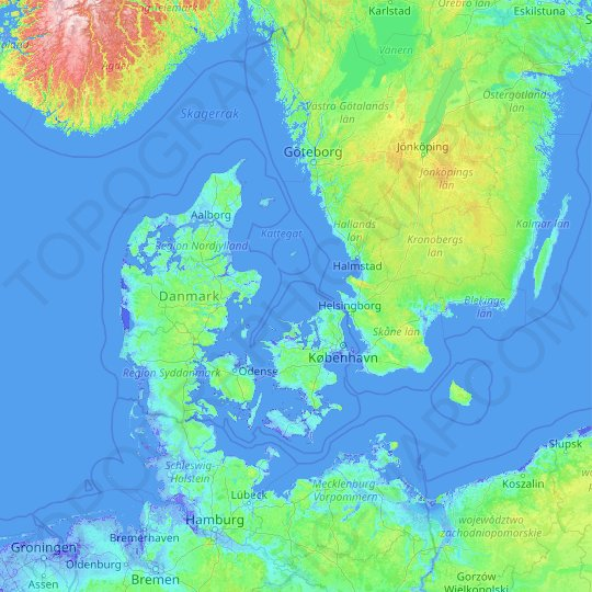 Denmark topographic map, relief map, elevations map on svendborg denmark map, herning denmark map, vejle denmark map, frederiksborg denmark map, lyngby denmark map, funen denmark map, jylland denmark map, holland denmark map, fredericia denmark map, jutland denmark map, skagen denmark map, sjaelland denmark map, amsterdam denmark map, holstein denmark map, fyn denmark map, randers denmark map, helsingor denmark map, christiania denmark map, kobenhavn denmark map, copenhagen denmark map,